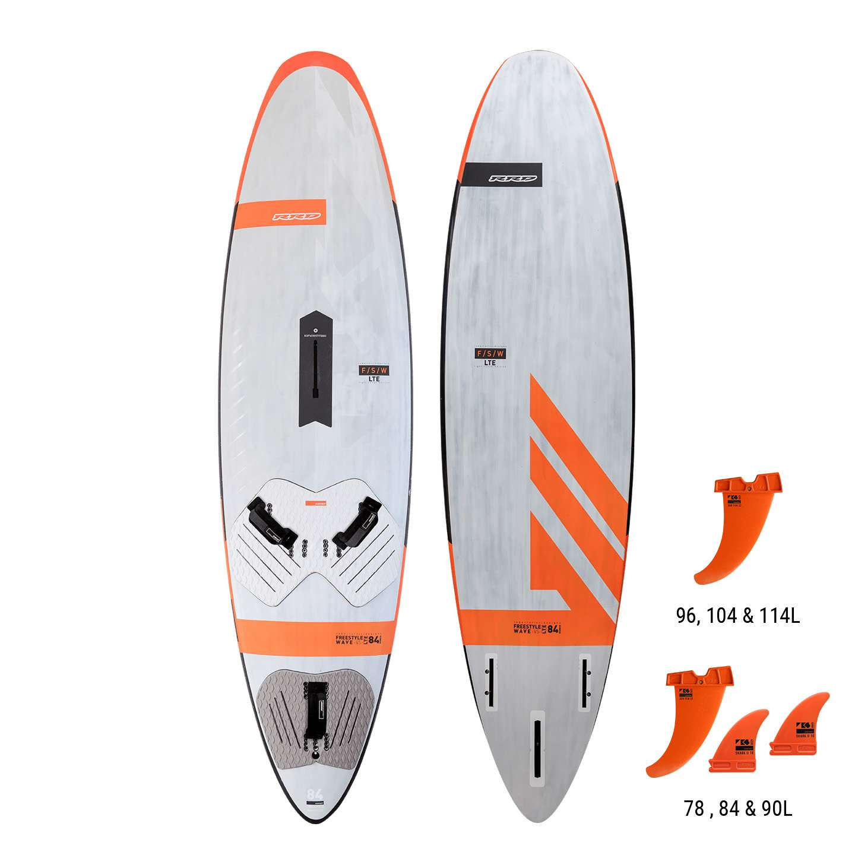 RRD Freestyle Wave Ltd V4 - Planches Windsurf Vague/freestyle