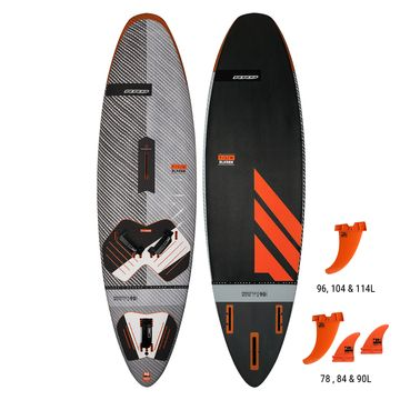RRD Freestyle Wave 90 Black Ribbon V5 Windsurf Board 2019