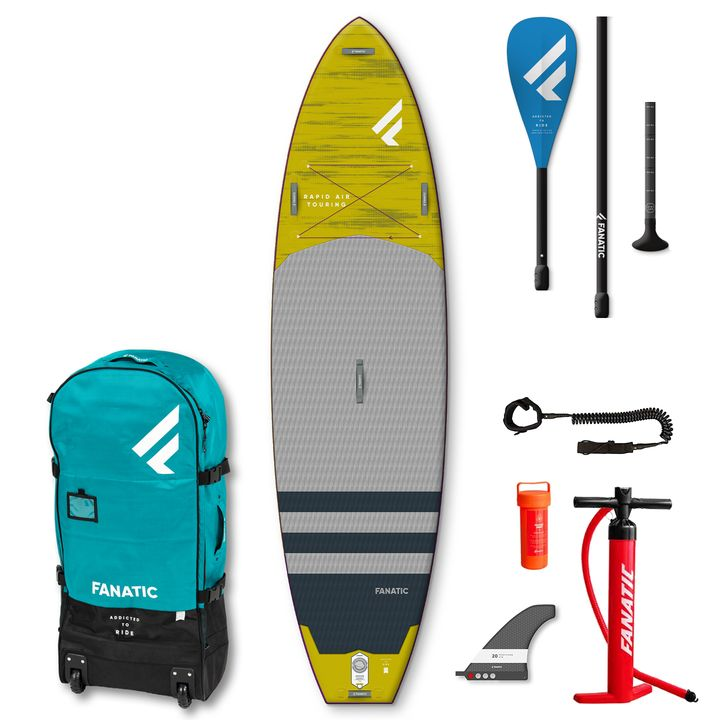Fanatic Rapid Air Touring 2021 11' Inflatable SUP