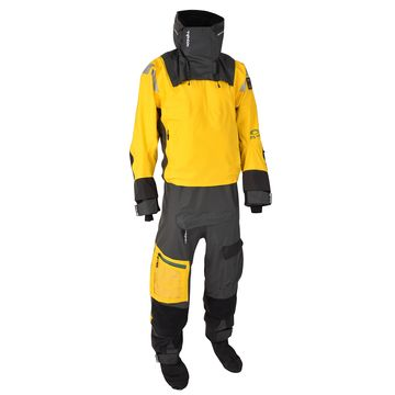 Typhoon PS440 Hinge Entry Drysuit Yellow