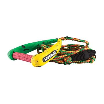 Hyperlite 25' Pro Surf Rope w/ Rasta Handle 2020