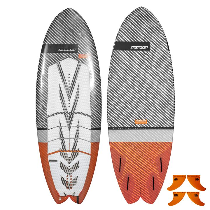 RRD Ace V1 Black Ribbon Kiteboard