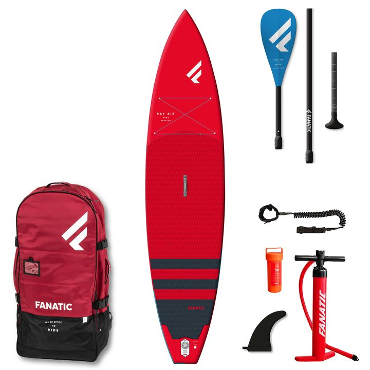 Fanatic Ray Air Red 2021 11'6 Inflatable SUP