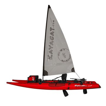 Kayacat Cougar Inflatable Kayak/Sail/SUP