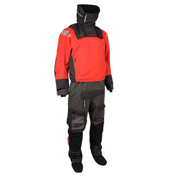 Typhoon PS440 Hinge Entry Drysuit Red