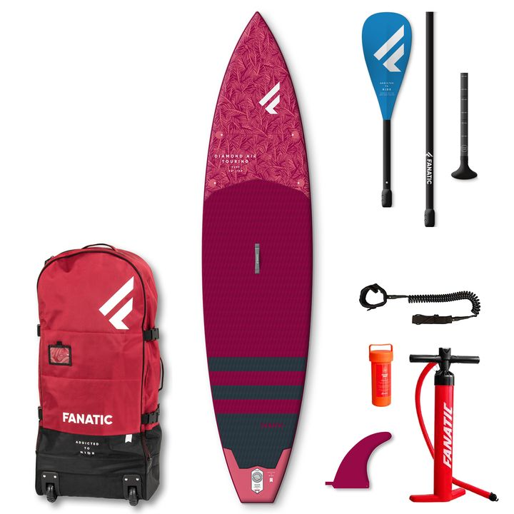 Fanatic Diamond Air Touring 2021 11'6x31 Inflatable SUP