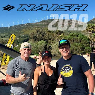 Naish 2019 Kitesurf Product Testing in Tarifa | King of Watersports