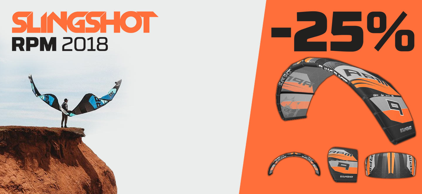 Save 25% OFF the 2018 Slingshot RPM Kite
