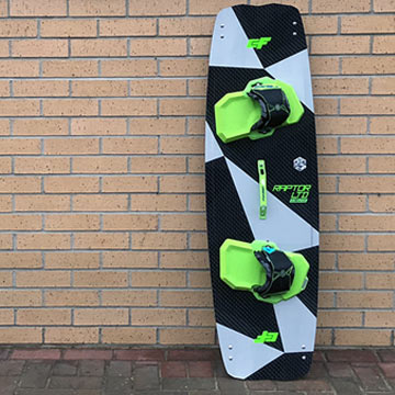 Crazyfly Raptor Ltd Neon Kiteboard 2018