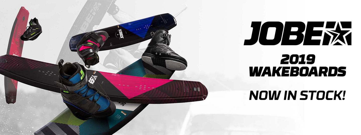 Jobe 2019 Wakeboards Now in Stock