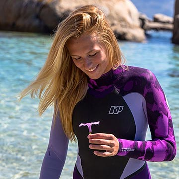 2018 NP Camo Womens Wetsuits