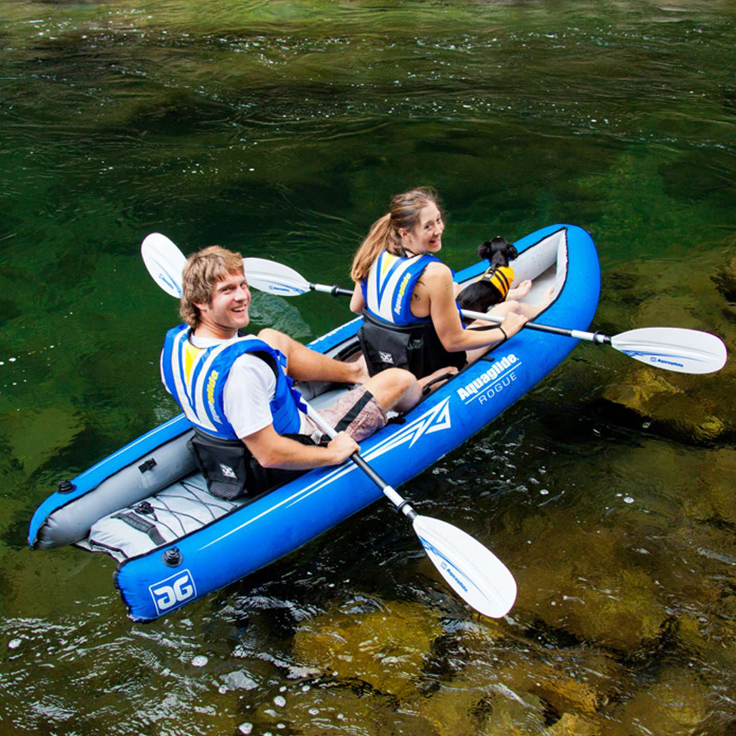 Wakeboards For Sale >> Aquaglide Rogue Inflatable Kayak 2014   King of Watersports