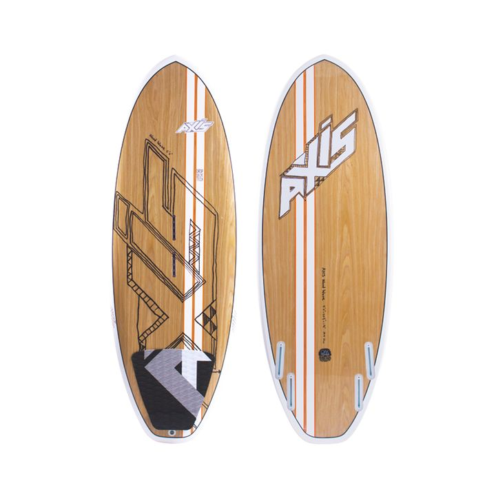Axis Spud Wooden Kite Surfboard 2015
