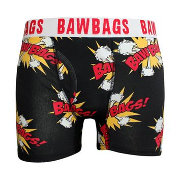 Bawbags Kapow Black Boxer Shorts