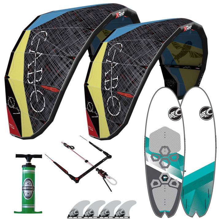 Best Cabo 7&9m Secret Weapon Kitesurf Package