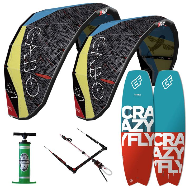 Best Cabo 7&9m Strike Kitesurf Package
