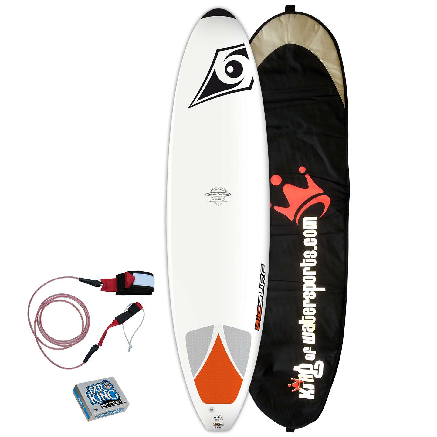 Bic Surf 7 3 Mini Mal Surfboard 2014 Package King Of