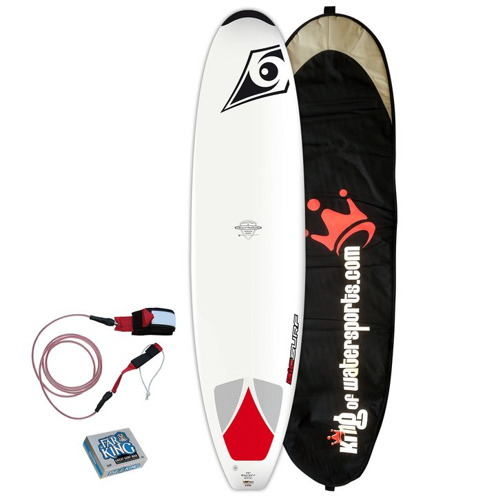 Bic Surf 7'9 Natural Surf 2 Surfboard 2014 Package