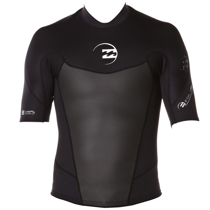 Billabong Foil 2mm Short Sleeve Jacket 2014