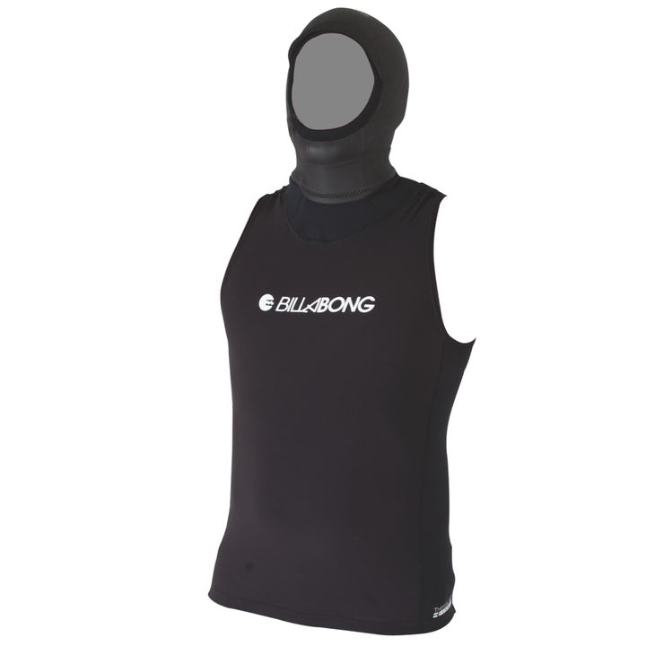 Billabong Furnace Thermal  Vest with Hood