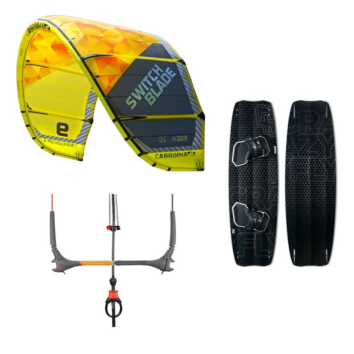 Cabrinha Switchblade & Crazyfly Raptor Pro Ltd 2015 Package