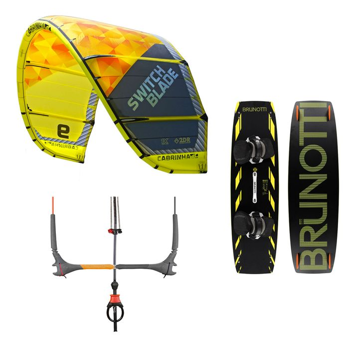 Cabrinha 12m Switchblade & Brunotti 136cm Buzz Package