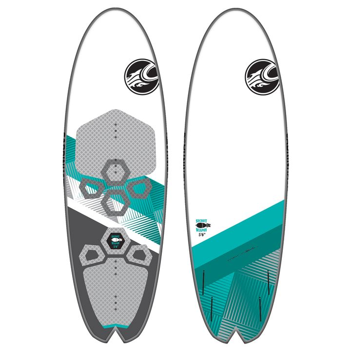 Cabrinha Secret Weapon Kite Surfboard 2015