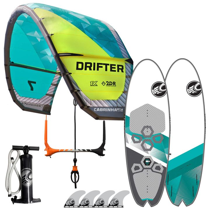Cabrinha Drifter Secret Weapon Kitesurf Package