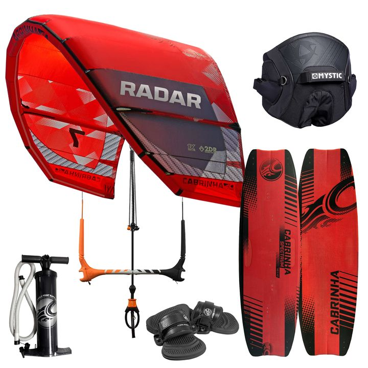 Cabrinha Radar Kitesurfing Beginner Package