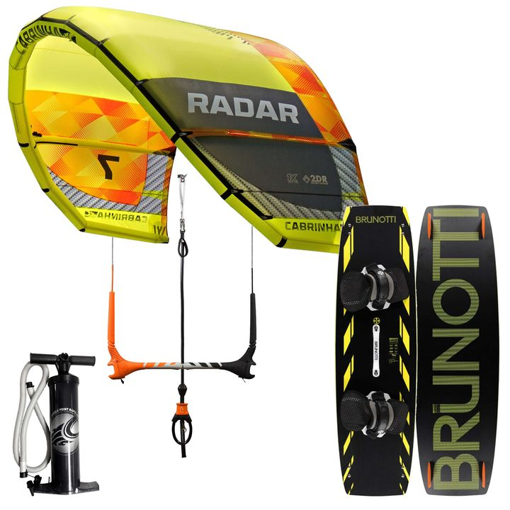 Cabrinha 9m Radar Brunotti Buzz Kitesurf Package