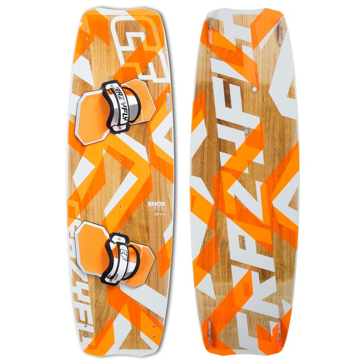 Crazyfly Shox Custom Kiteboard 2014