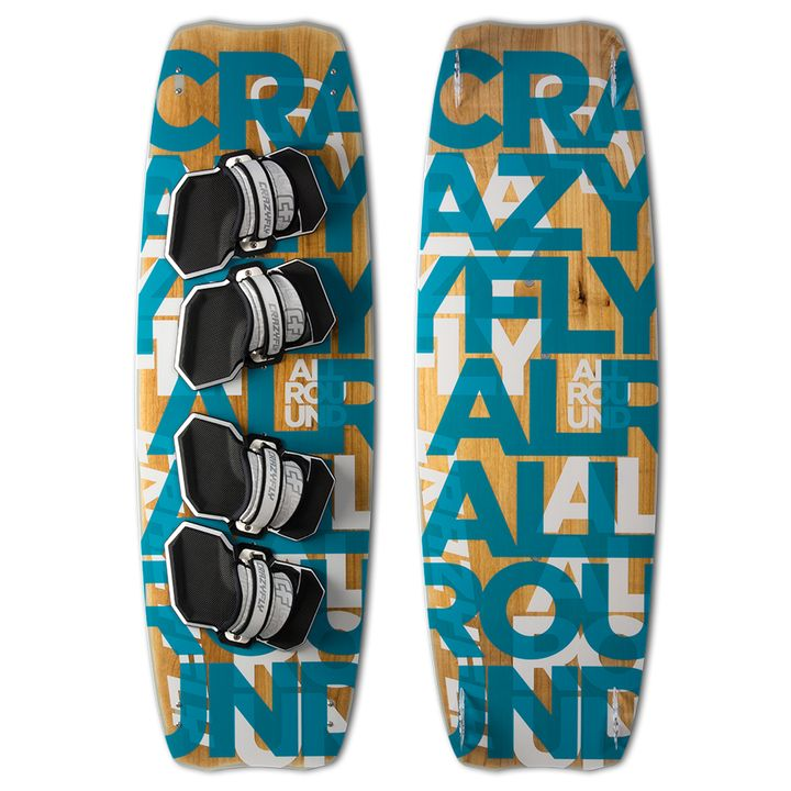 Crazyfly Allround Double Kiteboard 2015