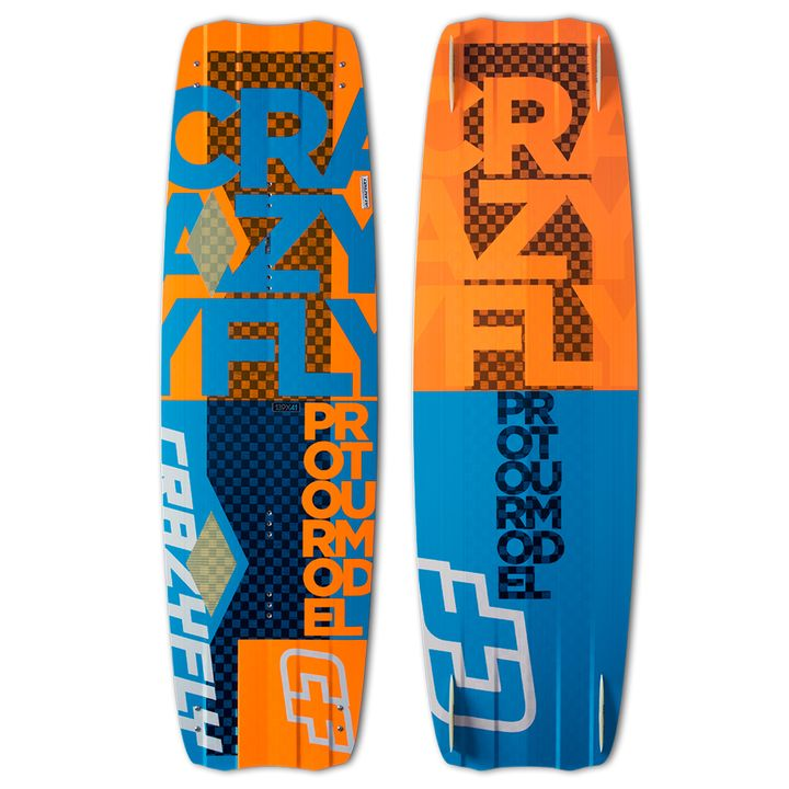 Crazyfly Pro Tour Model Kiteboard 2015