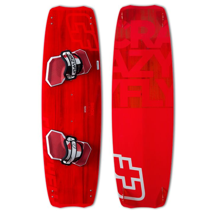 Crazyfly Shox Custom Kiteboard 2015