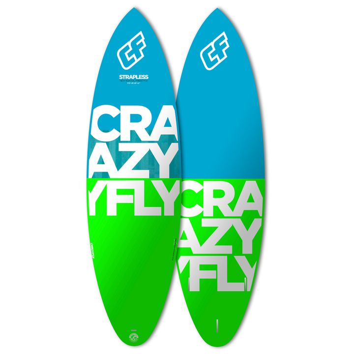 Crazyfly Strapless 2016 Kite Surfboard