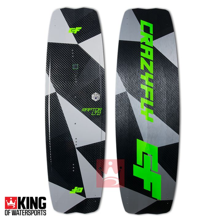 Crazyfly Raptor Ltd Neon 2018 Kiteboard