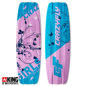 Crazyfly Girls 2019 Kiteboard