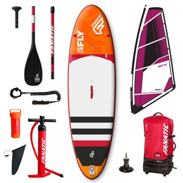 Fanatic Fly Air Premium 2017 10'4 Inflatable SUP Windsurf Package