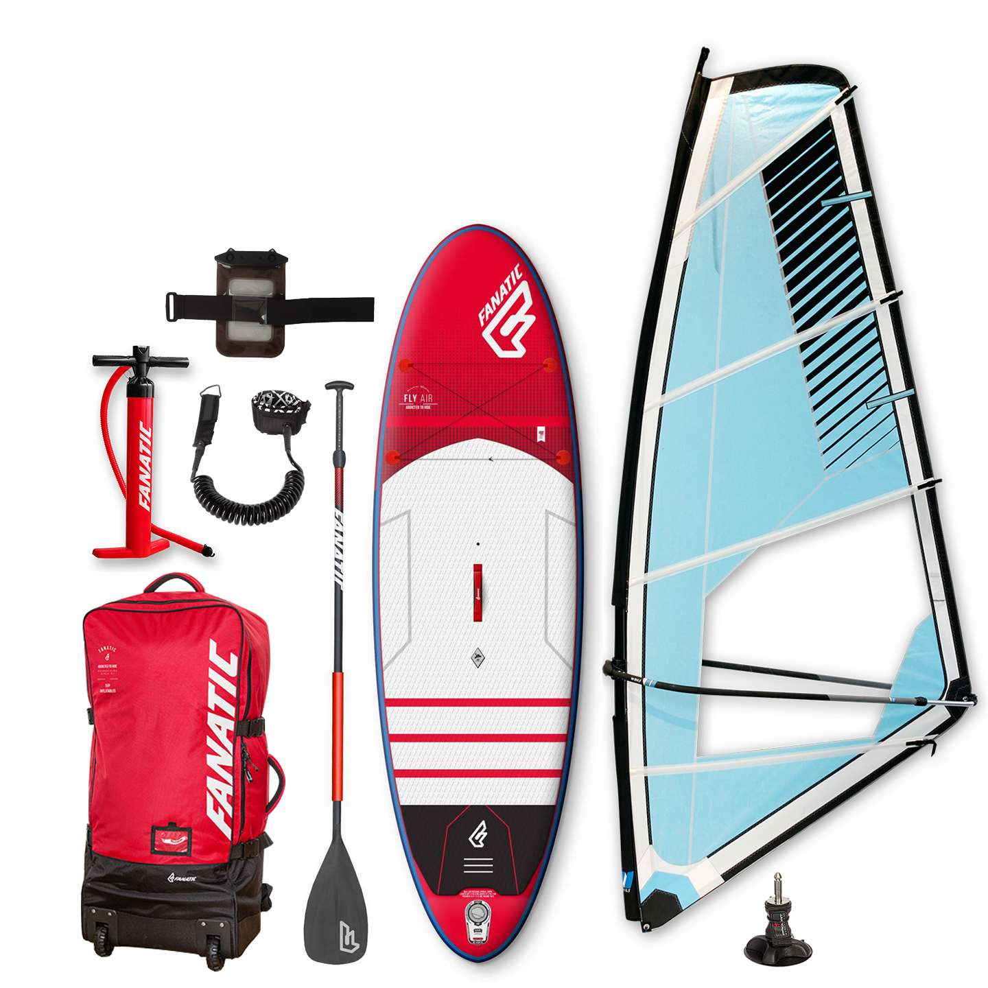 Fanatic Fly Air Premium 2016 10 8 Sup Windsurf Pac King