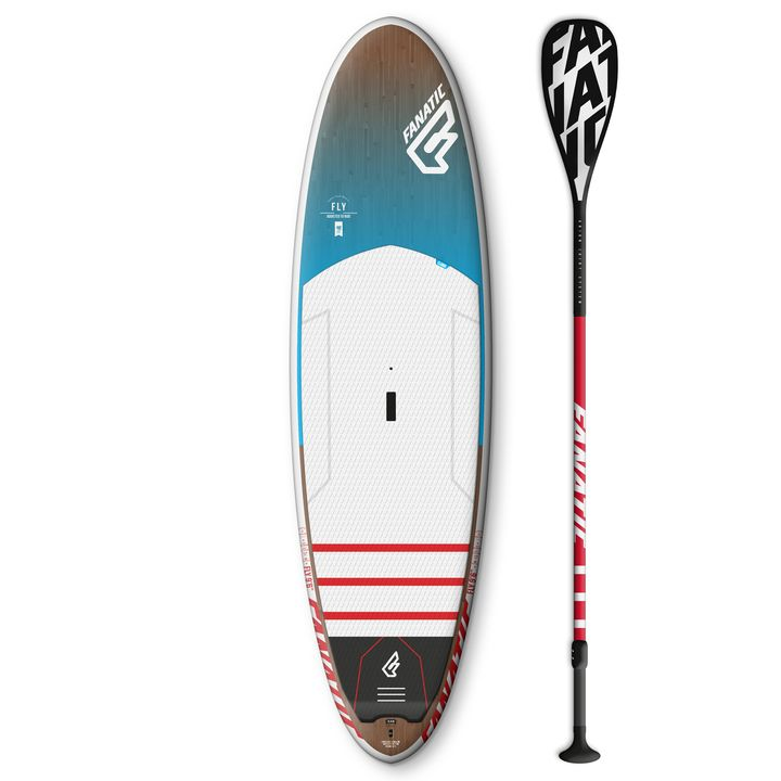 Fanatic Fly Wood Edition 10'6 SUP Board 2016