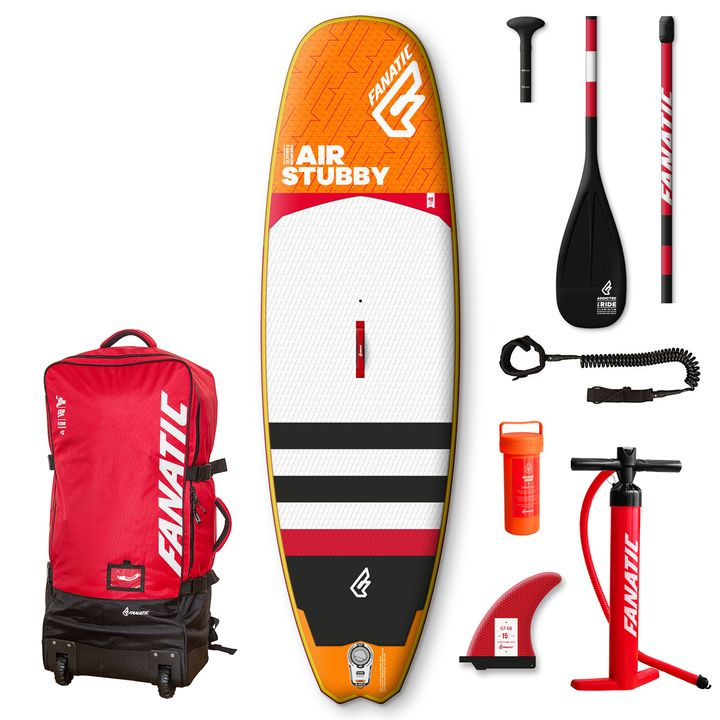 Fanatic Stubby Air 2017 8'6 Inflatable SUP