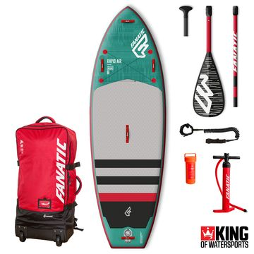 Fanatic Rapid Air 2018 9'6 Inflatable SUP