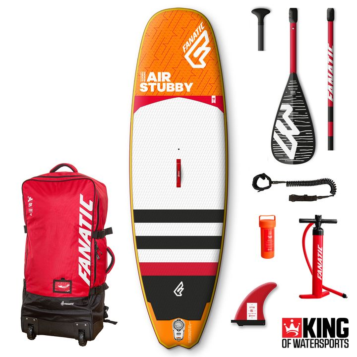 Fanatic Stubby Air 2018 8'6 Inflatable SUP
