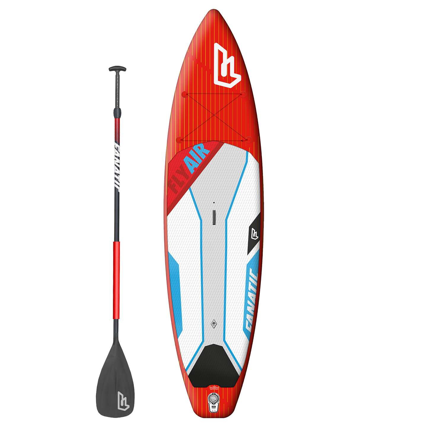 Fanatic Fly Air Premium Touring 110 Inflatable SUP Board