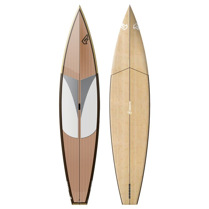 Fanatic Fly Race Clear Wood SUP Board 2014