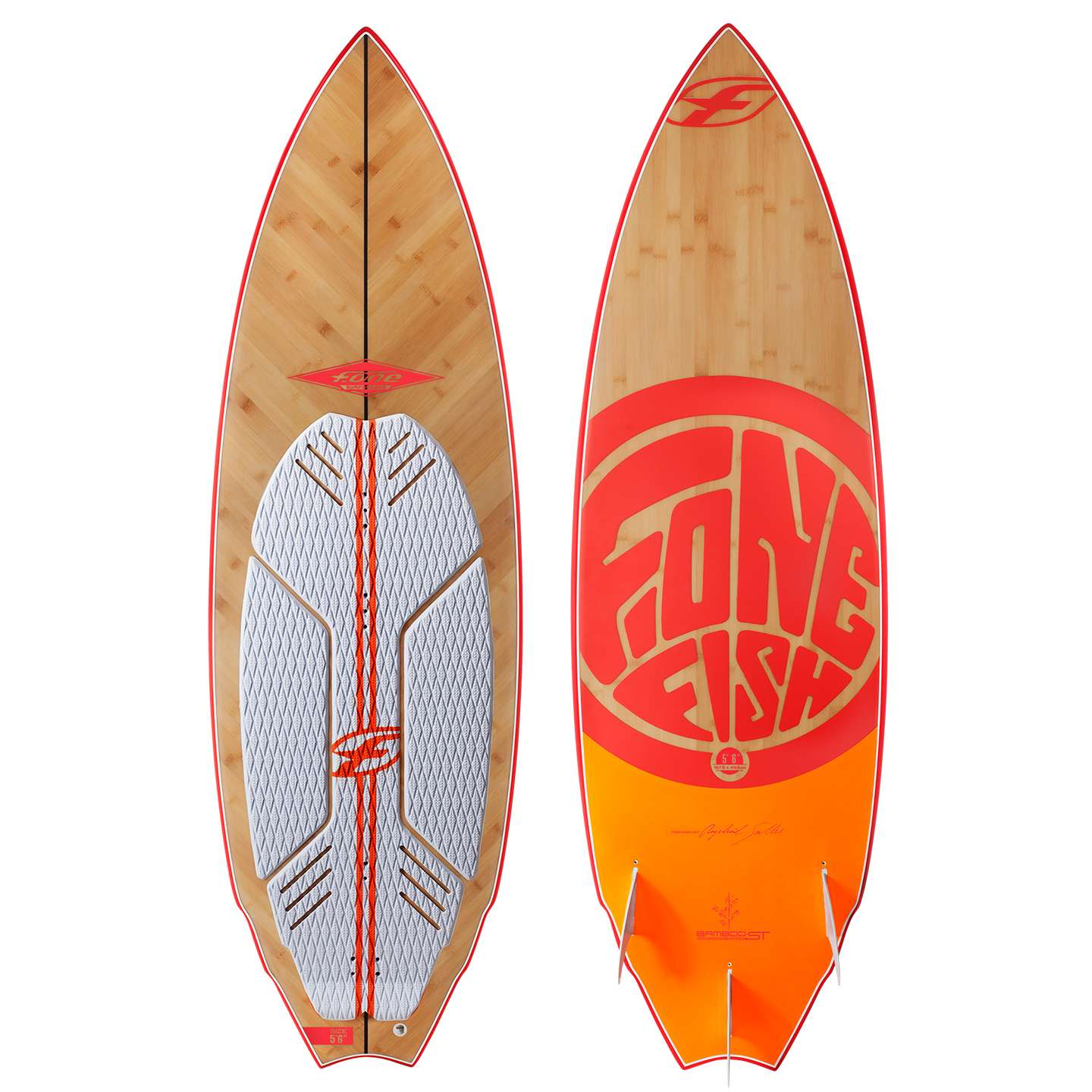 F one fish kite surfboard 2015 king of watersports for Fish surfboard for sale