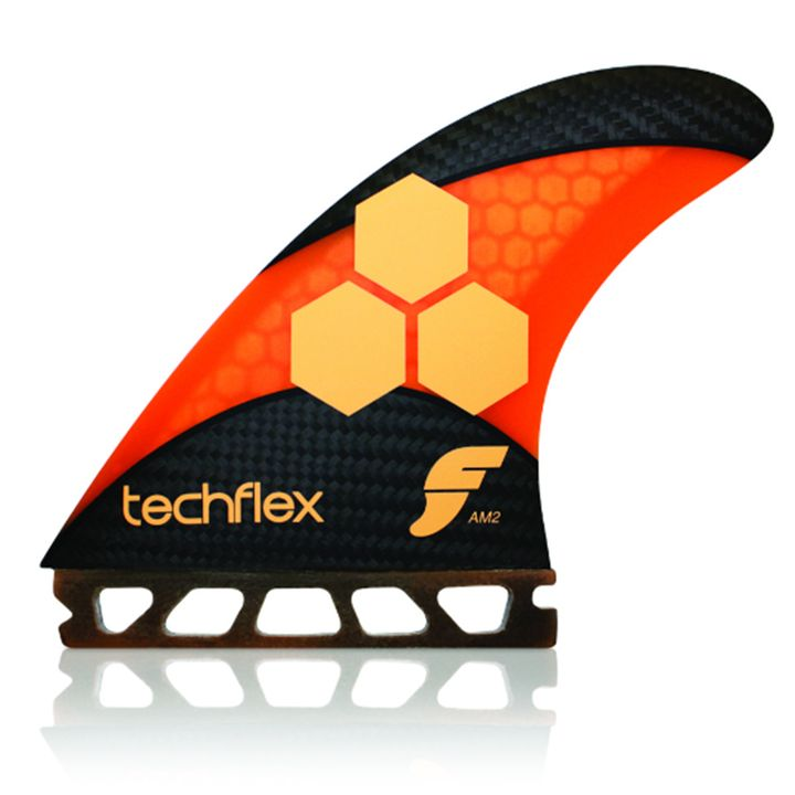 Futures AM2 Techflex Orange Fins