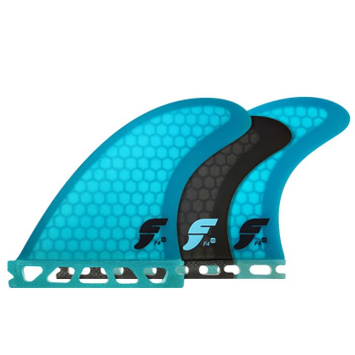 Futures V2 F4 5-Fin Honeycomb Fins