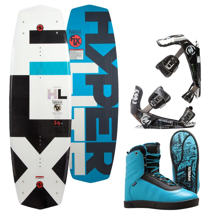 Hyperlite Franchise FLX Wakeboard 2016 Package