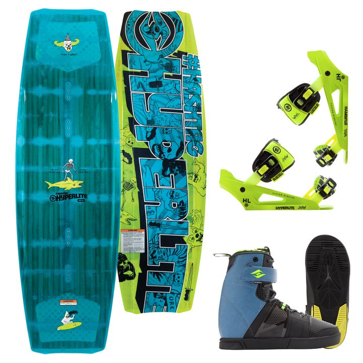 Hyperlite The Hashtag Wakeboard 2017 Package King Of